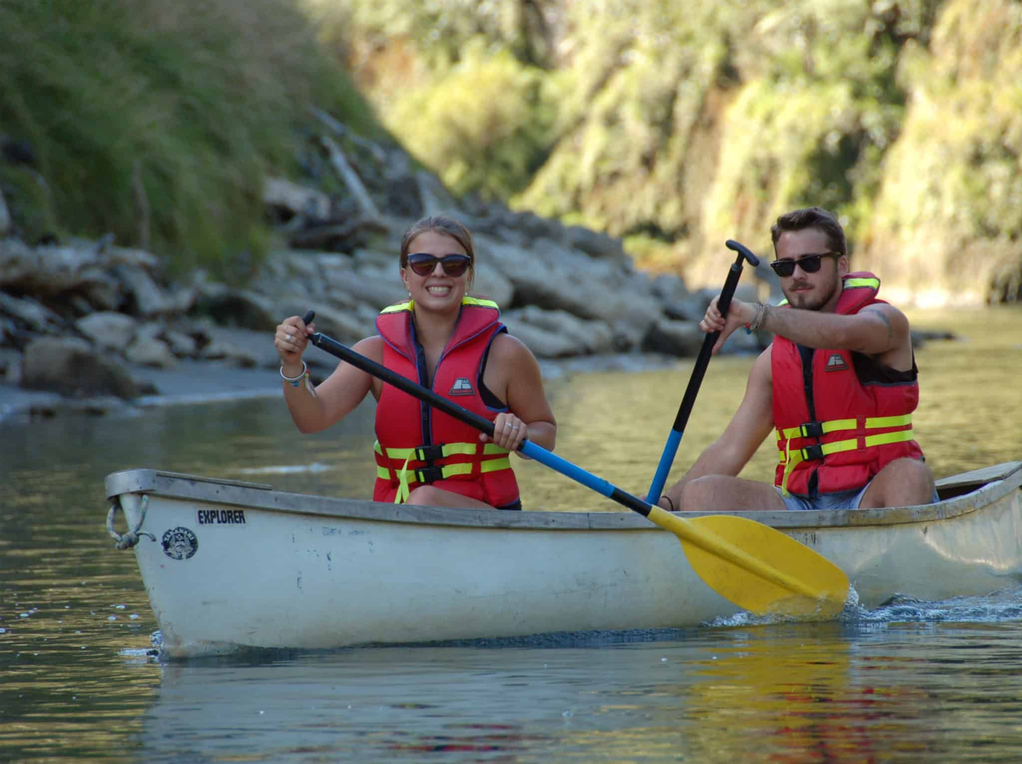 Canoeing the Whanganui River