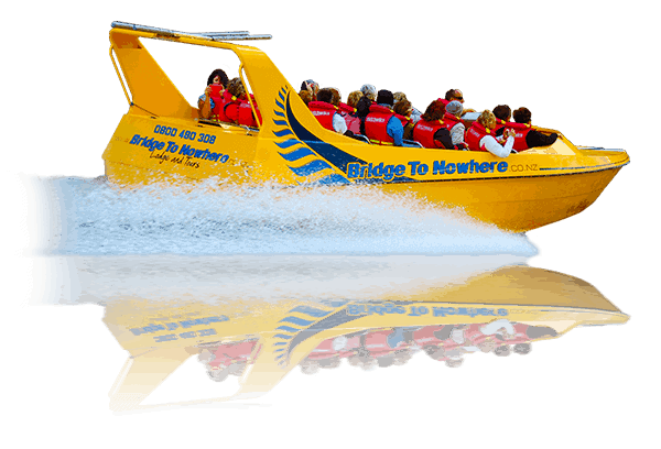 Bridge to Nowhere Tours - Jet Boat
