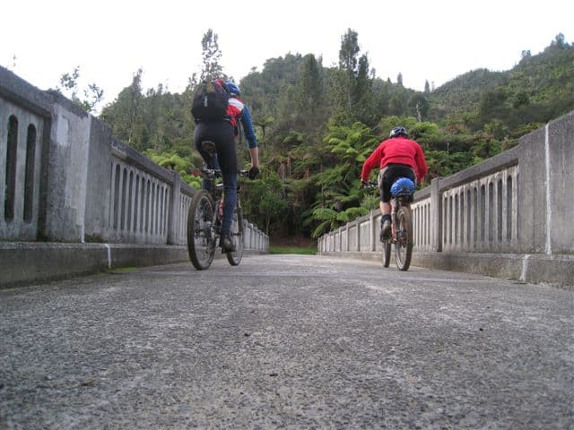 Riding across the Bridge to Nowhere