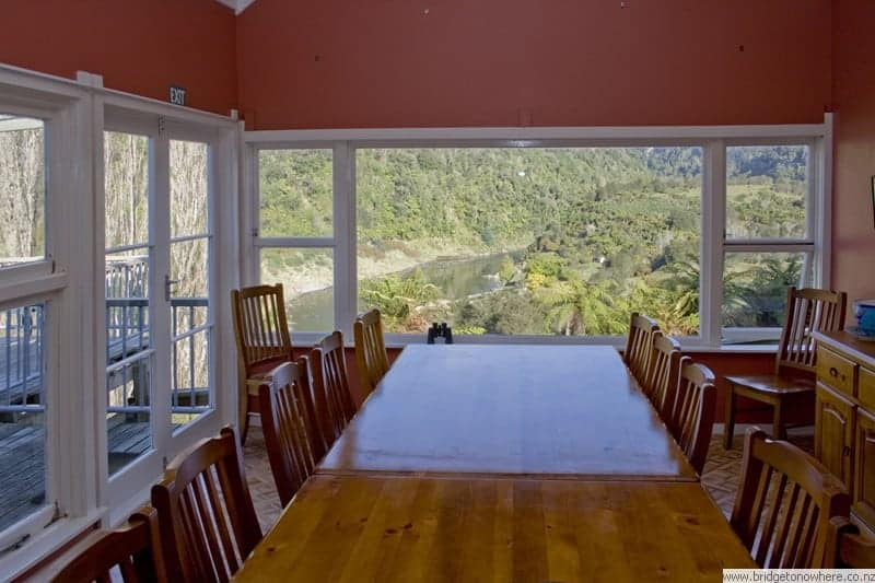 Bridge to Nowhere Lodge - Dining Room