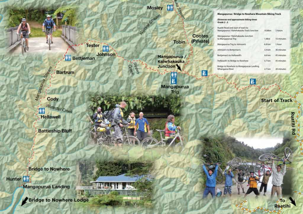 Mountain Biking map