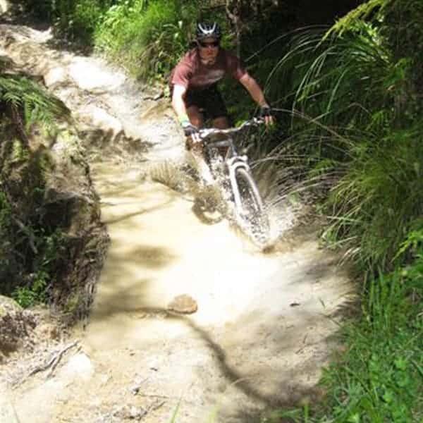 Mountain Biking the Bridge to Nowhere Track