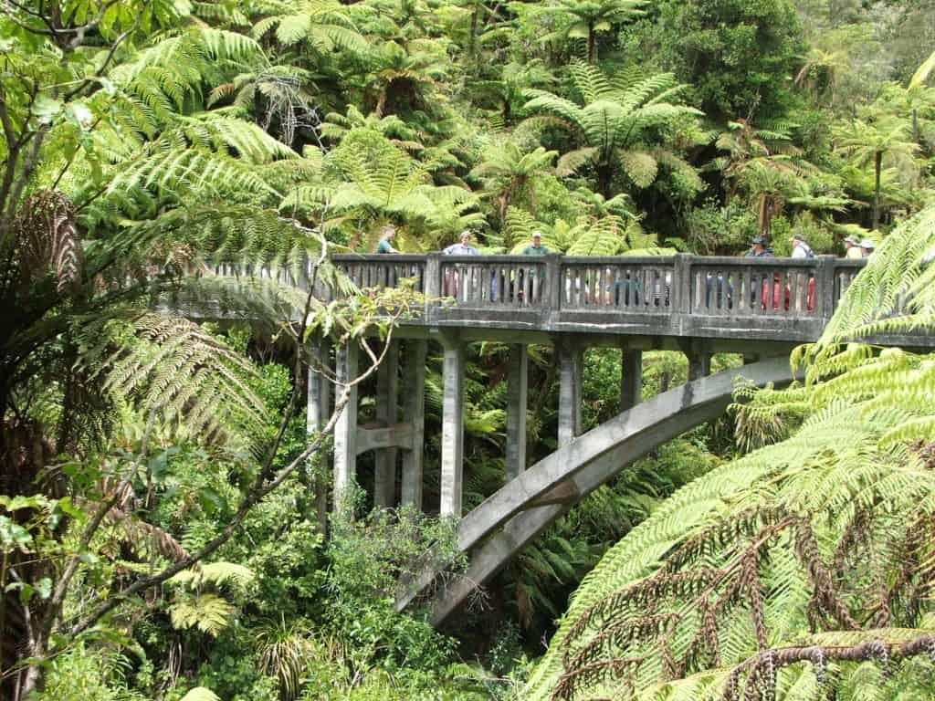 Bridge to Nowhere - Whanganui New Zealand